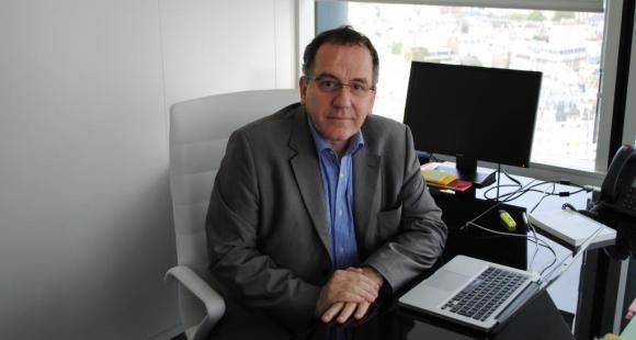 Jean CHAMBAZ - président UPMC - avril 2012 ©C.Stromboni