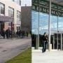 Université de Reims Champagne-Ardenne © C.Stromboni-fev2013 (à g) et campus de Reims de Neoma (à dr.) © Neoma BS