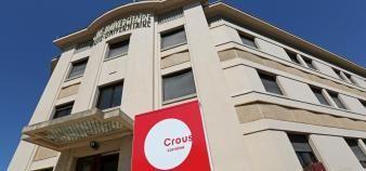 La cité universitaire Monbois de Nancy, comme la plupart des résidences universitaires en France, a vu la grande majorité de ses occupants déserter les lieux pendant la crise sanitaire. //©Fred MARVAUX/REA