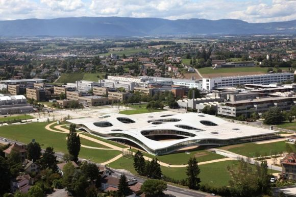 Le Rolex learning center de l'EPFL © Alain Herzog - EPFL