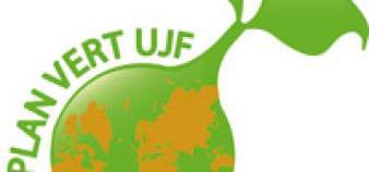 Logo du Plan vert à l'UJF
