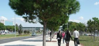 Esplanade de l'université Paul Sabatier, ©UPS