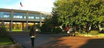 Le campus 1 de l'université de Caen, Basse-Normandie © S.Chesnel - novembre 2013