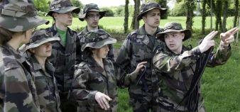 Semaine de préparation militaire à l'ENSOA organisée par l'Ipag © Ipag