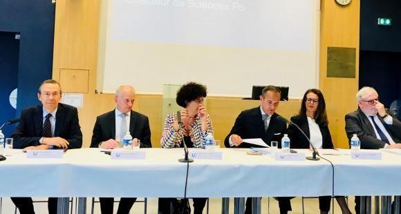 Lancement de l'alliance U7, une intiatve française portée par 13 établissements français dont Science Po