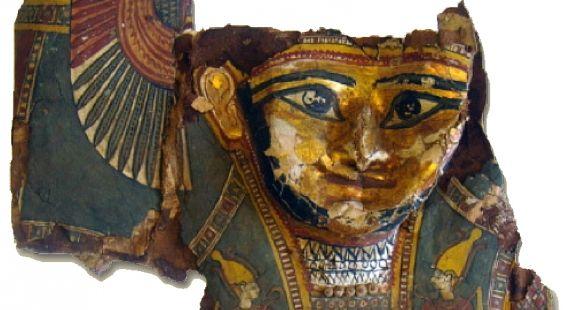 Masque doré (Inv.Sorb. 2766) - Institut de papyrologie de la Sorbonne // DR
