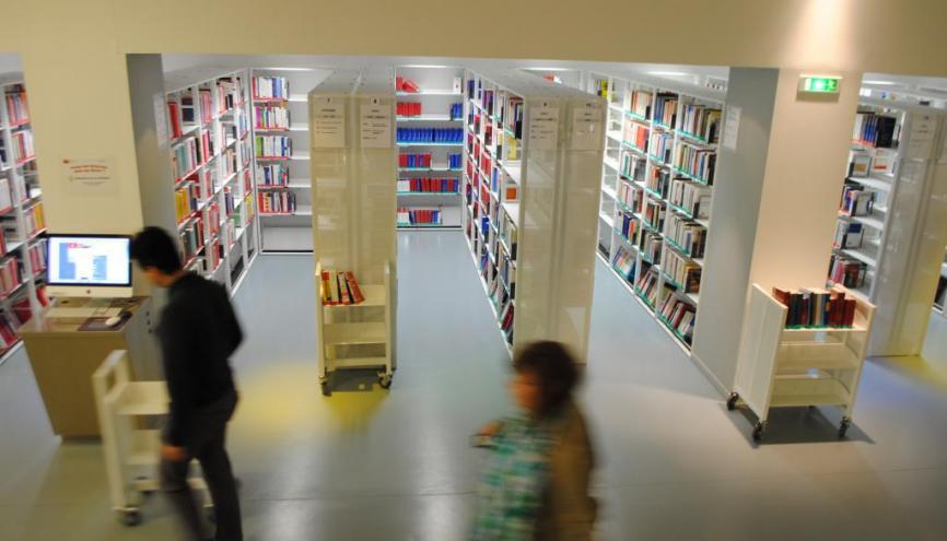 Université Paris 2 -  Panthéon Assas - Bibliothèque - ©Camille Stromboni-2012 //©Camille Stromboni