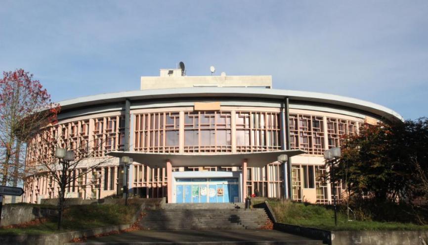 Actuellement fermée, la BU est en travaux pour deux ans pour devenir un Learning center. //©Mathieu Oui