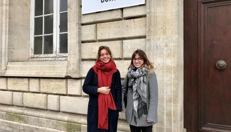 Justine et Camille, étudiantes en L3 de psycho à l'université de Bordeaux, se dirigent vers un master psychologie clinique et psychopathologie.