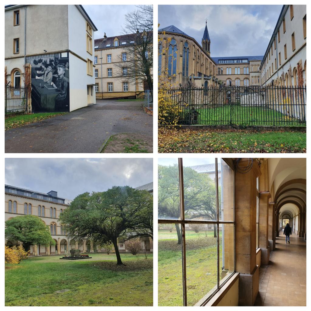 Le lycée Jean XXIII à Montigny-lès-Metz. //©Thibaut Cojean