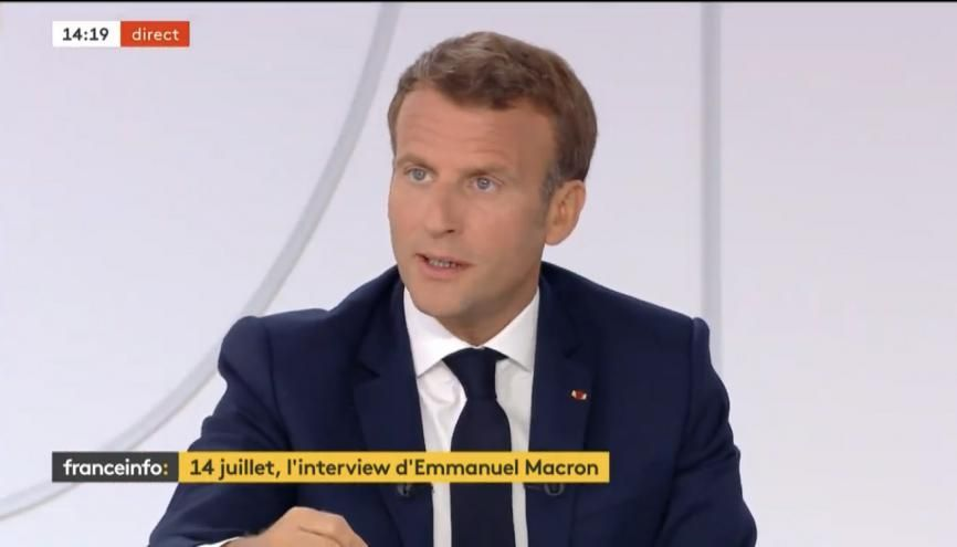 Emmanuel Macron a détaillé les mesures du plan de relance de son gouvernement à destination de la jeunesse. //©letudiant