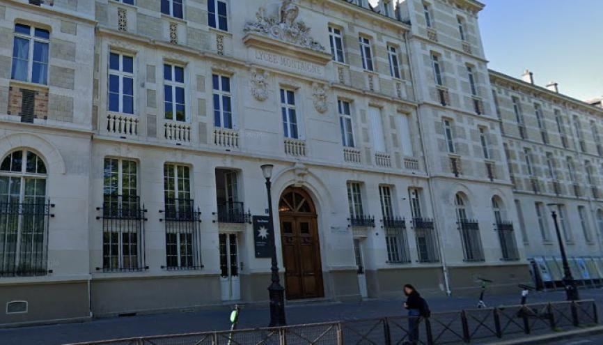 Le lycée Montaigne accueille 1700 élèves, allant de la 6e à la prépa. //©Google Street View
