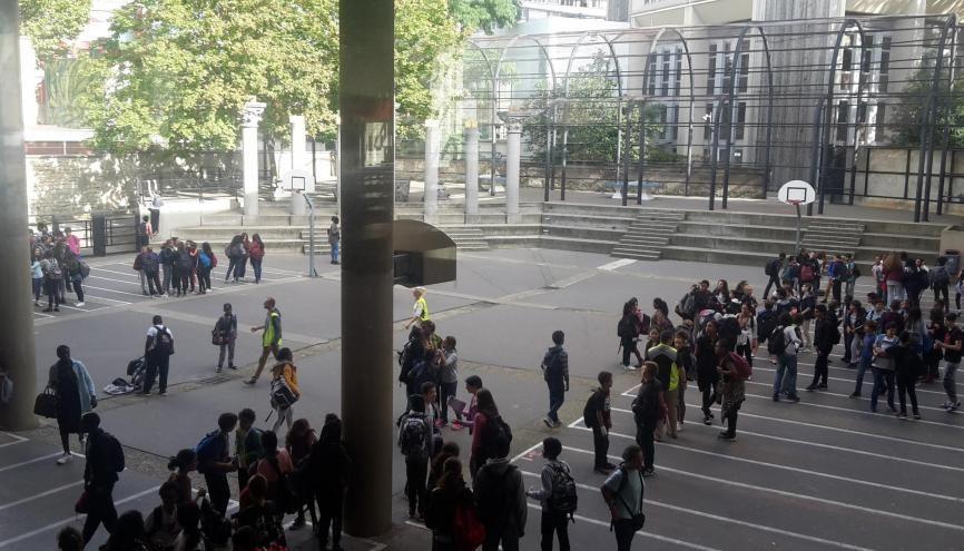 Un projet d'arrêté propose un certain nombre de modifications à la réforme du collège. //©Laura Taillandier