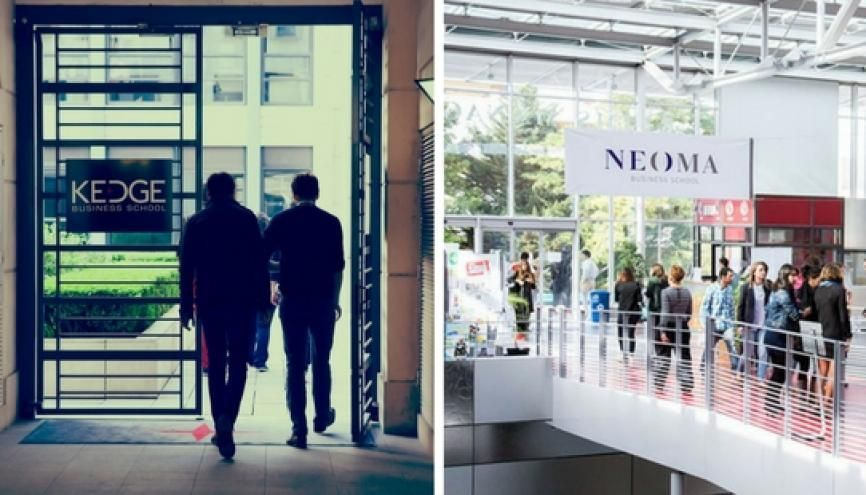 Kedge et Neoma //©Kedge BS - Neoma BS