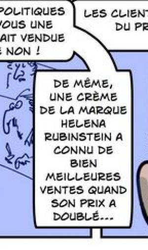"""Extrait de la BD """"Sup de cons"""" de Zeil."""