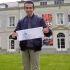 Le billet designé par Corentin Daudin sera dans toutes les mains le jour de la finale de la Coupe de France de football. //©Émilie Weymants