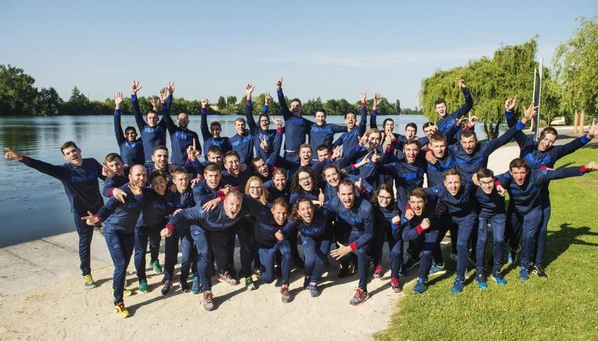 Les 39 membres de l'équipe de France des métiers concourront du 14 au 19 octobre aux Worldskills 2017 à Abu Dhabi. //©Worldskills France