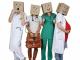 """Couverture d'""""Internez-nous ! Vos (futurs) médecins généralistes témoignent"""". //©Virginie Bertereau"""