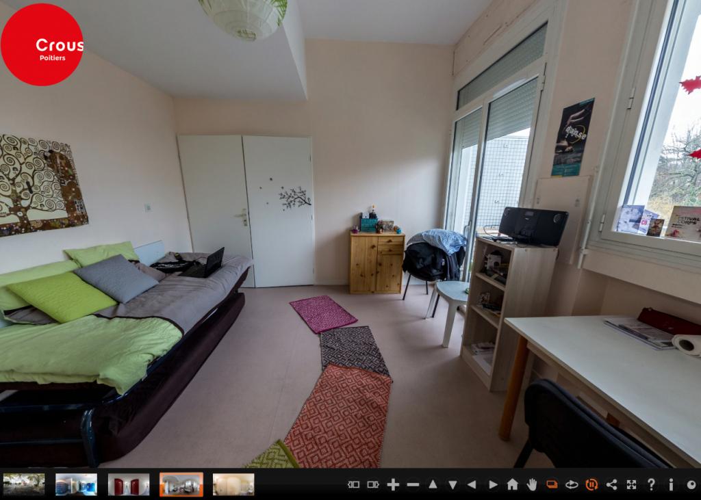 La visite virtuelle vous permet d'avoir un excellent aperçu de votre futur logement. //©Capture d'écran
