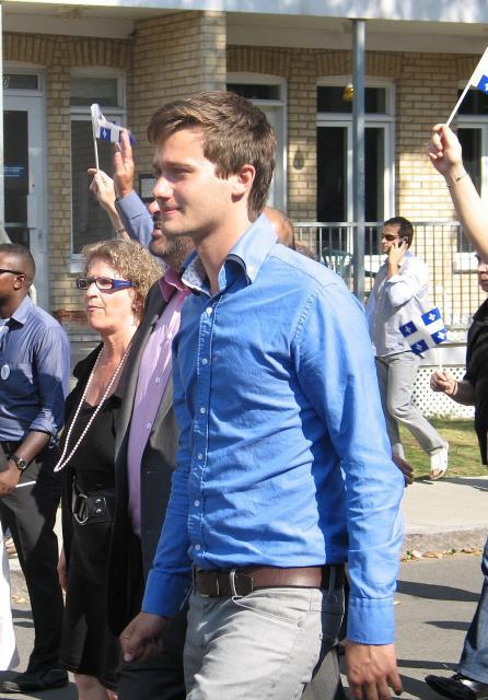 Léo Bureau-Blouin : le plus jeune député de l'Assemblée nationale du Québec //©Boucheci