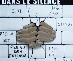 """Image ayant remporté le Prix """"Non au harcèlement"""" 2015 - catégorie 4e-3e – Académie de Toulouse."""