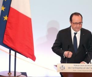 François Hollande a présenté, le 18 janvier 2016, ses mesures pour relancer l'apprentissage.