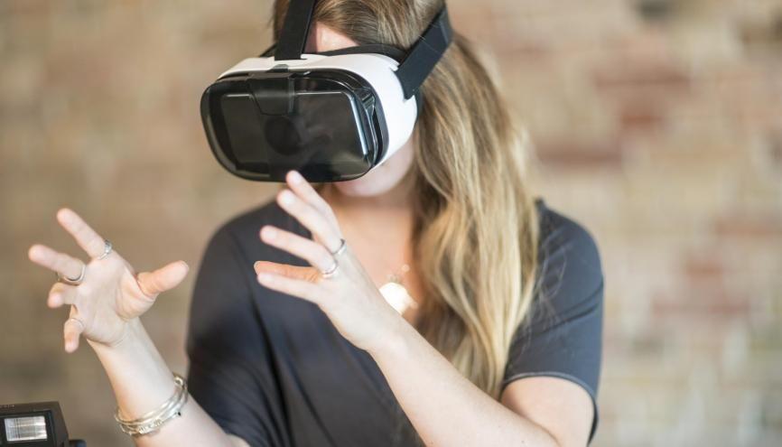 Quand une course de bobsleigh virtuelle devient une session de recrutement... //©plainpicture/Tamboly