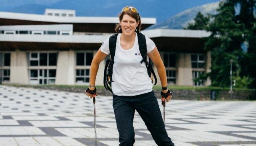 Marion a participé aux derniers Jeux olympiques en ski de fond et a été classée 36e au sprint. //©Pierre Morel pour l'Etudiant