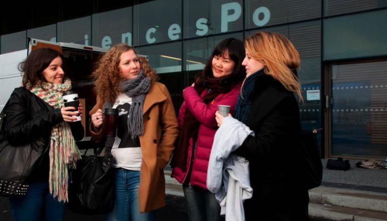 Le campus universitaire du Havre de l'IEP de Paris accueille les étudiants du collège universitaire (premier cycle) qui suivent le programme Europe-Asie.