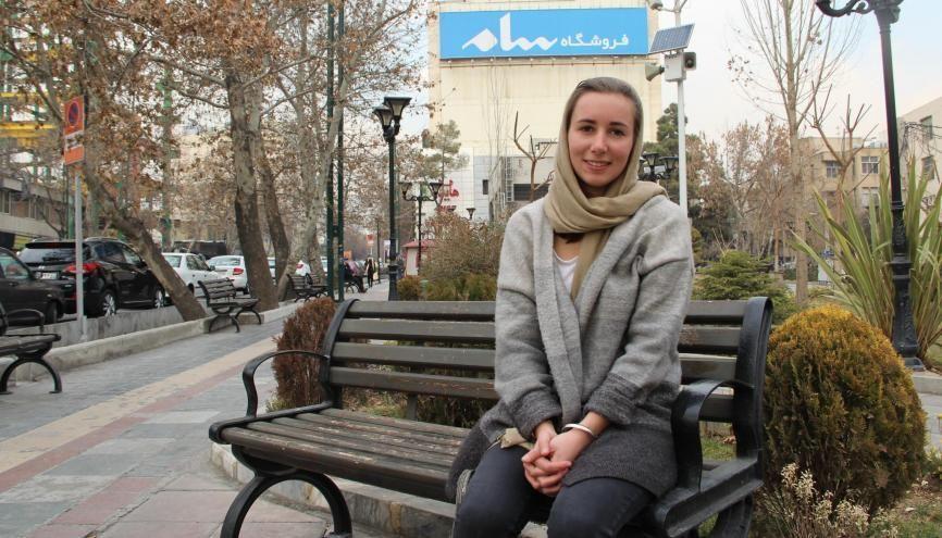 Maguelone a choisi l'Iran pour découvrir une société et une culture originales. //©Photo fournie par le témoin
