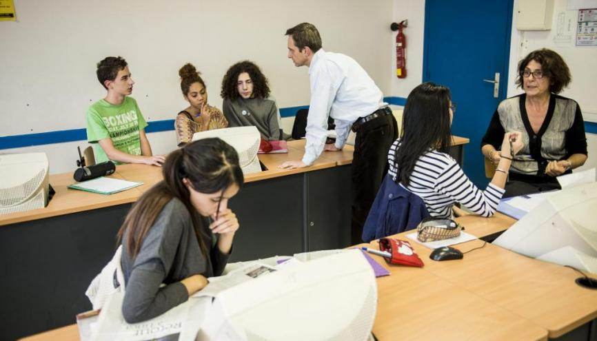 La réforme de l'entrée à l'université souhaite un meilleur accompagnement des lycéens dans leur projet d'études. //©Éric Garault