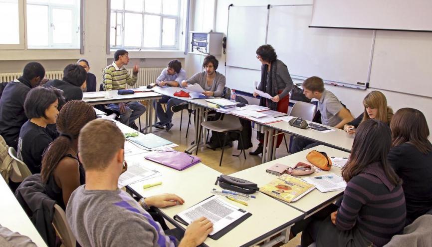 Télécom ParisTech accueille 36,3 % d'étudiants étrangers dans son cycle ingénieur. //©Télécom ParisTech