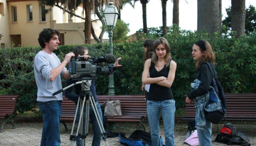 L'IUT information-communication de Cannes (06). //©IUT Infocom