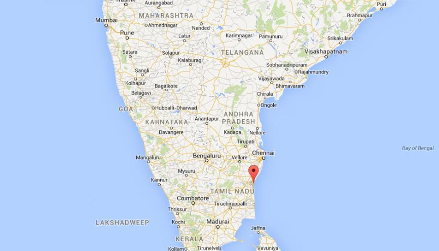 Les collégiens de Pondichéry ont passé leur brevet les 2 et 3 mai 2017. //©Google