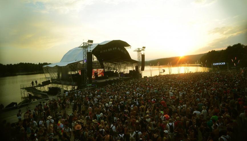 Les Eurockéennes, un festival devenu mythique. Il accueillera, cette année encore, plus de 100.000 personnes. //©Sacha Radosavljevic