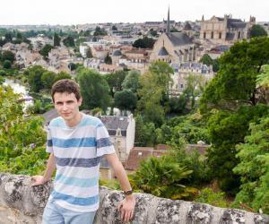 Aurélien, 20 ans, en troisième année CMI, à l'université de Poitiers.