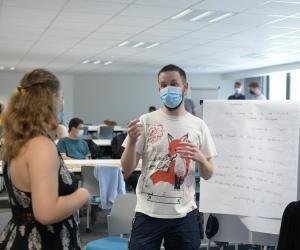 A Audencia, les étudiants ont commencé l'année avec un défi entre plusieurs entreprises.