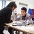 Élève dans un lycée expérimental 1 - Paris //©Laurent Hazgui/Divergence pour l'Etudiant
