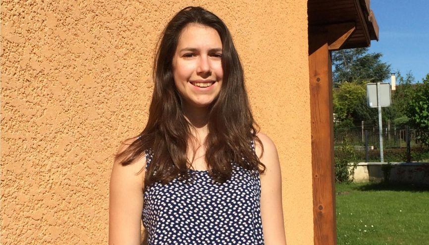 Julie sait enfin où elle étudiera l'année prochaine : à l'INSA de Lyon, en spécialité génie mécanique. //©Photo fournie par le témoin