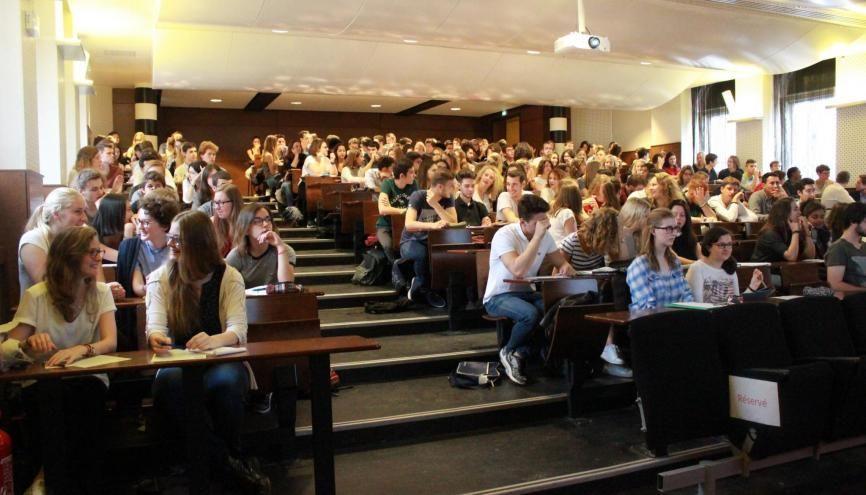 En 2018, une petite quinzaine d'étudiants devrait être admise directement en deuxième année par voie de concours à l'IEP de Strasbourg. //©Sciences po Strasbourg