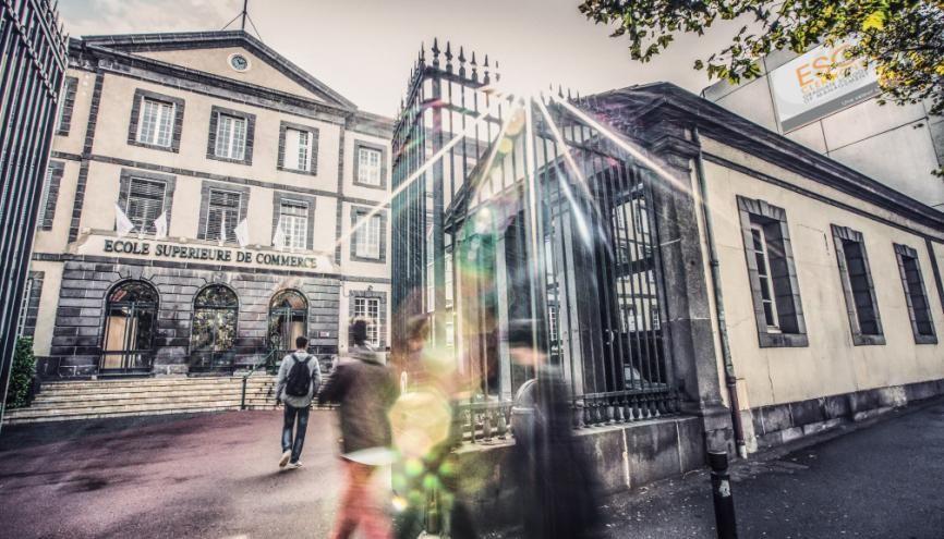 L'ESC Clermont fait partie des écoles qui voient augmenter leur nombre de candidatures d'élèves issus de prépa. //©ESC Clermont