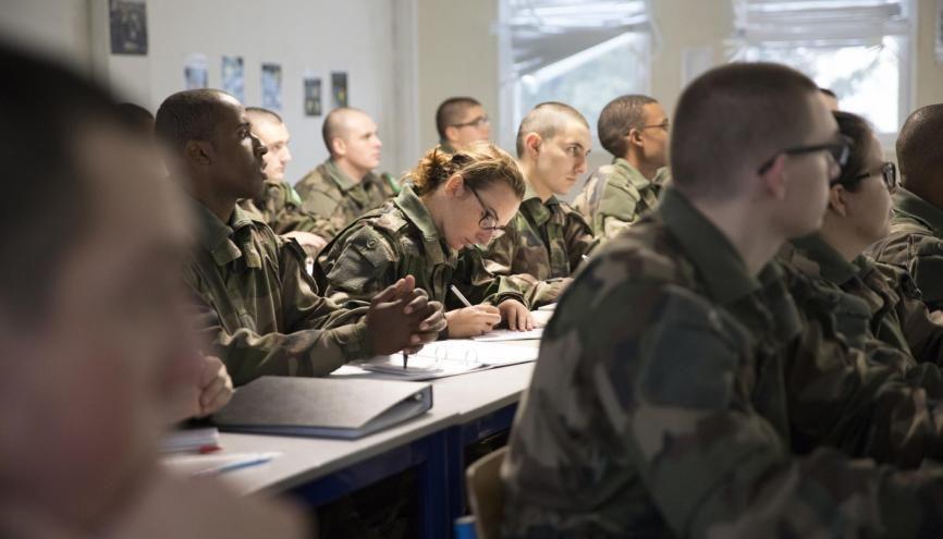 Cinq bonnes raisons de s'engager dans l'armée de Terre //©Ministère des armées