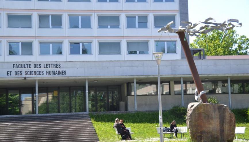 Université de Limoges - Fac de lettres. //©Isabelle Dautresme