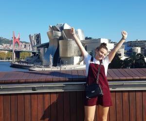 Margaux a goûté aux joies de la vie étudiante en Espagne.