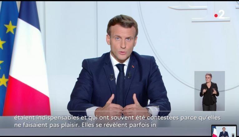 Emmanuel Macron annonce un reconfinement jusqu'au 1er décembre,