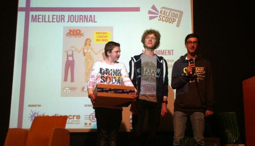 Ces jeunes écrivent dans le meilleur journal lycéen de France //©Isabelle Maradan