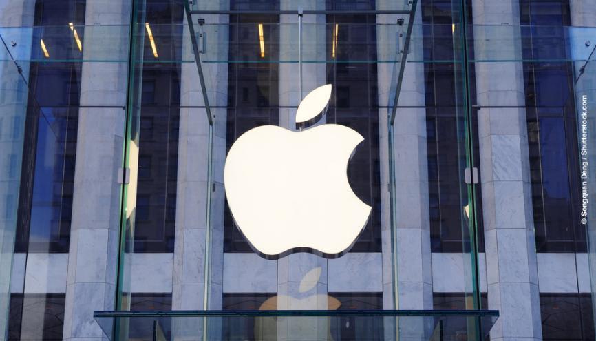 En 2013, Apple arrive 2e au classement Trendence des futurs managers  et 4e à celui des élèves ingénieurs. //©Shutterstock