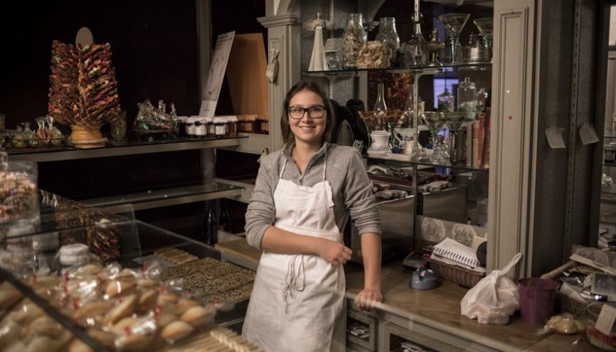 32.000 : c'est le nombre d'entreprises de boulangerie-pâtisserie en France en 2015 (Source : Confédération nationale de la boulangerie-pâtisserie française). //©Mat Jacob/Tendance Floue pour l'Etudiant