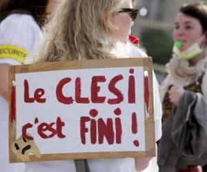 Les étudiants et professionnels de santé en marche contre le Clesi/ESEM (ici, une manifestation en 2014).