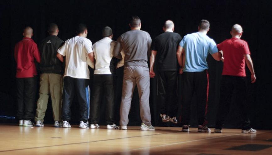 """Ombre et Lumière"""", documentaire belge sur un atelier théâtre pour jeunes prisonniers, en compétition au 9e Festival du Film d'Éducation d'Évreux, du 3 au 7 décembre 2013. //©DR"""
